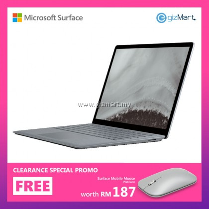 Microsoft Surface Laptop 2 i5 / 128GB - 8GB RAM + FREE Surface Mobile Mouse