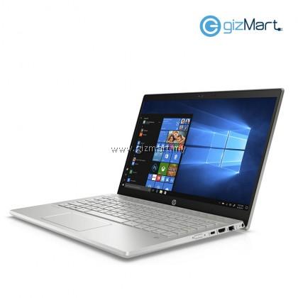 """HP Pavilion 14-CE0082TX 14"""" Notebook-Mineral Silver (i5-8250U, 4GB, 1TB+128GB, Mx130, Win10)"""