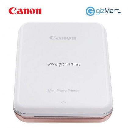 CANON Mini Photo Printer-Rose Gold + FREE Zink Photo Paper