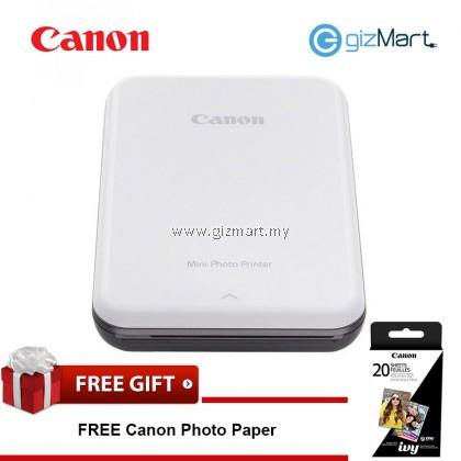 CANON Mini Photo Printer-Slate Grey + FREE Zink Photo Paper