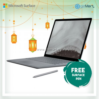 [NEW] Microsoft Surface Laptop 2 i5 / 256GB - 8GB RAM (Platinum) + Surface Pen