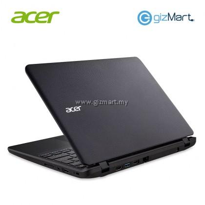 "ACER Aspire ES1-132-C5XN 11.6"" Laptop-Black (N3350, 4GB, 500GB, Win10) + FREE Mouse"