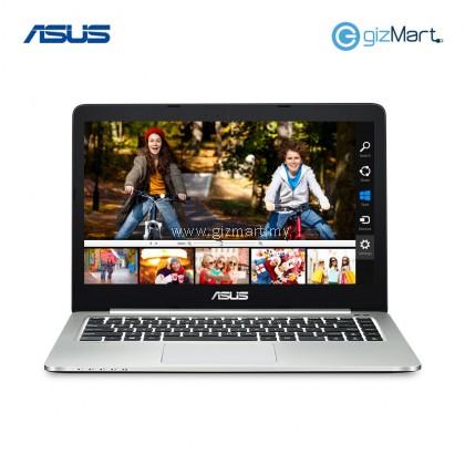 """ASUS K401U-QFA098T 14"""" Notebook-Grey (i5-7200U, 4GB, 1TB, 940Mx, Win10)"""