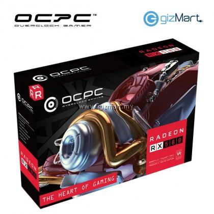 OCPC Radeon RX580 4GB GDDR5 Gaming Graphic Card