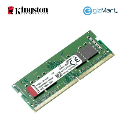 KINGSTON 8GB 2400MHz DDR4 CL17 Laptop Ram (KVR24S17S8/8)