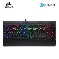 CORSAIR K70 Lux Cherry Mx Brown RGB Mechanical Gaming Keyboard
