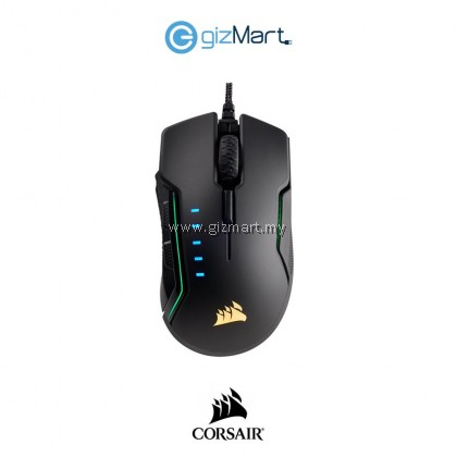 CORSAIR CH-9302011-AP Glaive RGB Gaming Mouse-Black
