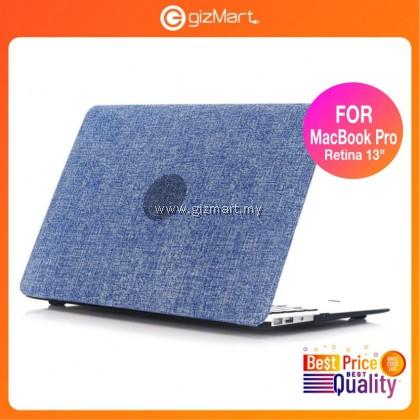 "Toughshell Hardcare for MacBook Pro Retina 13"" A1502/A1425 - Jeans Denim Blue"