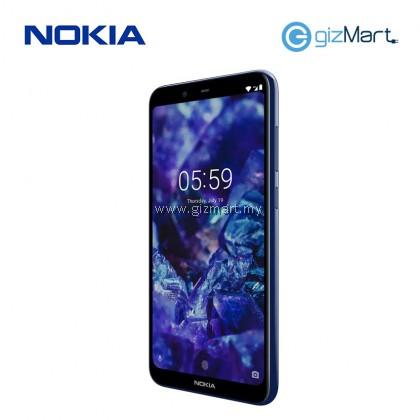 """NOKIA 5.1 Plus Smartphone-Blue (MT6771, 3GB, 32GB, 13MP, 5.8"""")"""
