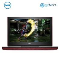 "DELL Inspiron 7566-30414G 15.6"" Gaming Laptop-Red (i5-6300HQ, 4GB, 1TB, Gtx960M, Win10)"