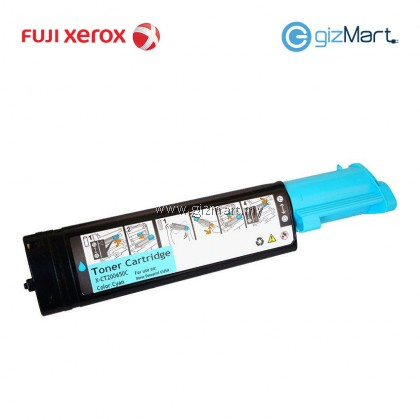 (New Sealed Expired) Original FUJI XEROX Docuprint C525A Cyan Toner Cartridge