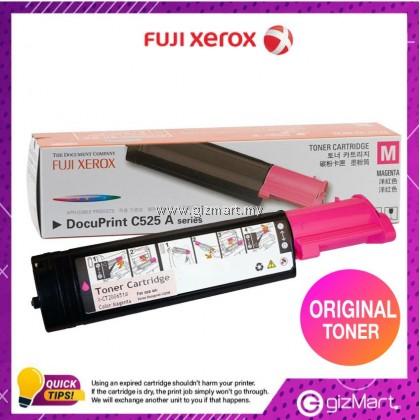 (New Sealed Expired) Original FUJI XEROX Docuprint C525A Magenta Toner Cartridge