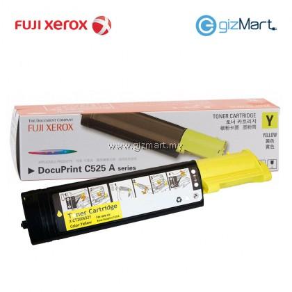 (New Sealed Expired) Original FUJI XEROX Docuprint C525A Yellow Toner Cartridge