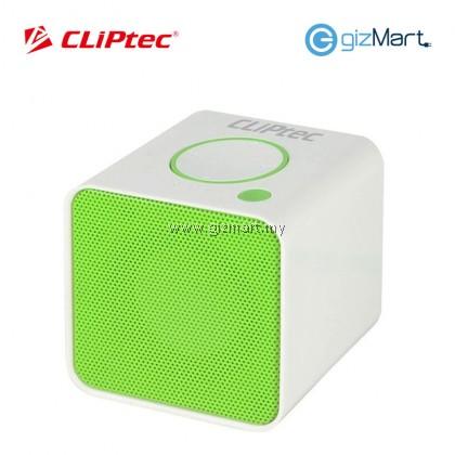 CLIPTEC Bluetooth TF Speaker-Green