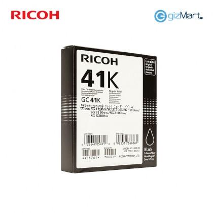 Ricoh GC41K Black Ink Print Cartridge