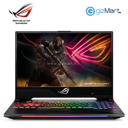 "ASUS ROG Strix Scar II GL704G-WEV046T 17.3"" Gaming Laptop-Gun Metal (i7-8750H, 16GB, 512GB, Rtx2070, Win10)"