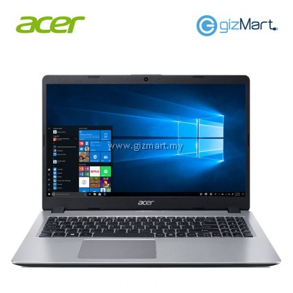 "ACER Aspire 5 A515-52G-547K 15.6"" Laptop-Silver (i5-8265U, 4GB, 1TB, Mx150, Win10)"