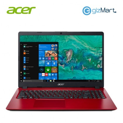 "ACER Aspire 5 A515-52G-547K 15.6"" Laptop-Red (i5-8265U, 4GB, 1TB, Mx150, Win10)"
