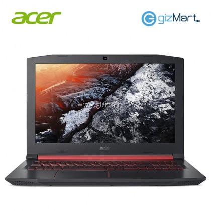 "ACER Nitro 5 AN515-52-78AS 15.6"" Laptop-Black (i7-8750H, 4GB, 1TB+16GB, Gtx1050Ti, Win10)"