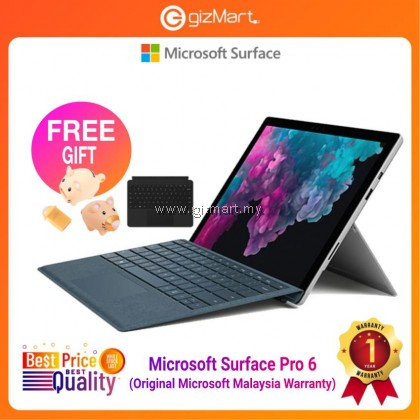 Microsoft Surface Pro 6 i7 / 256GB - 8GB RAM + Black Type Cover + FREE Kingston 32GB Limited Edition Pendrive