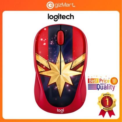 Logitech M238 Marvel Collection Wireless Mouse (Captain Marvel 910-005562)