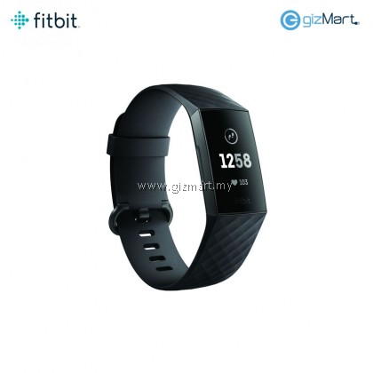 Fitbit Charge 3 Advanced Fitness Tracker (Black)