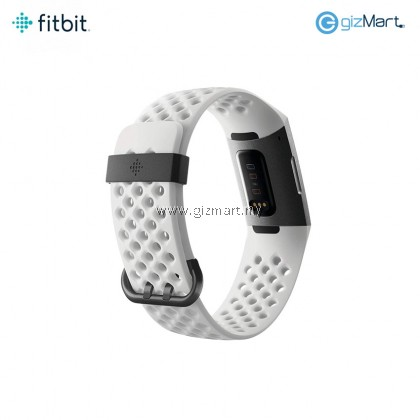 Fitbit Charge 3 Advanced Fitness Tracker Special Edition (White Silicon)