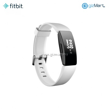 Fitbit Inspire HR Fitness Tracker (White/Black)