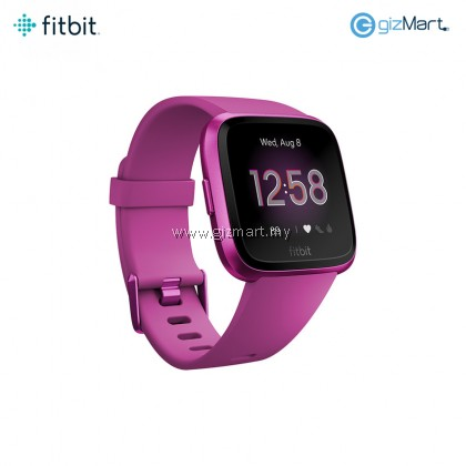 Fitbit Versa Lite Edition Smartwatch (Mulberry)