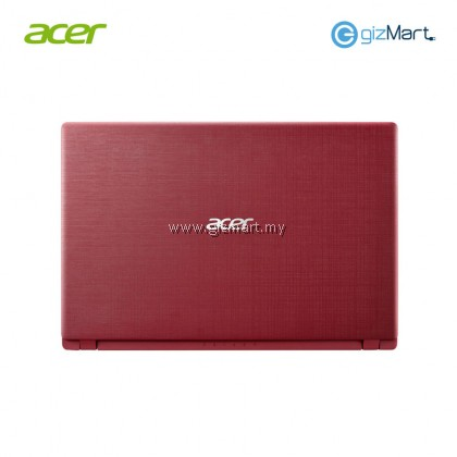 "ACER Aspire 3 A314-32-C2VP 14""HD Notebook-Red (N4000,Intel UHD,4GB,500GB HDD) + Bitdefender Internet Security"