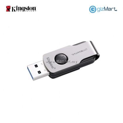 Kingston DataTraveler 64GB USB 3.0 Flash Drive (DTSWIVL/64GB)