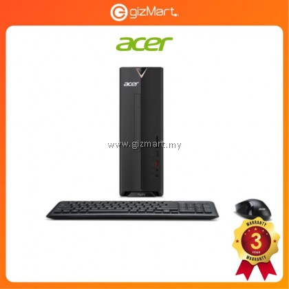 [DISPLAY UNIT, PM for condition] Acer Aspire AXC885-8400W10G Desktop PC (I5-8400, 4GB, 1TB, GT730 2GB, W10) DT.BAQSM.004