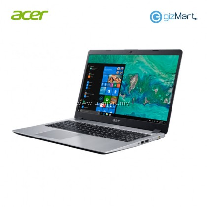 "Acer Aspire 5 A515-52-38GU 15.6"" Laptop Silver (i3-8145U, 4GB, 256GB, Intel, W10) + Bitdefender Internet Security"