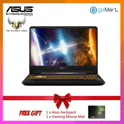 "Asus TUF FX505G-EBQ535T 15.6"" FHD Gaming Laptop (I7-8750H, 8GB, 512GB, GTX1050Ti 4GB, W10) + FREE Mouse Mat"