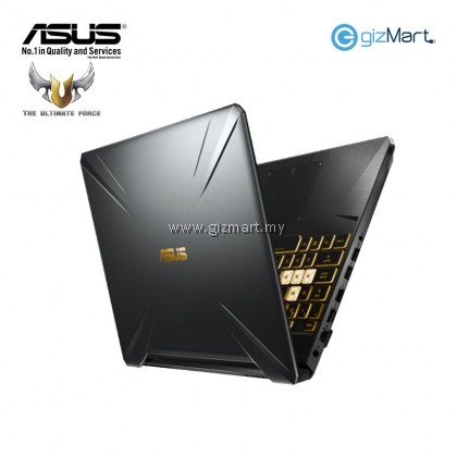 "Asus TUF FX705G-EEW273T 17.3"" FHD Gaming Laptop (I7-8750H, 8GB, 512GB, GTX1050Ti 4GB, W10) + FREE Mouse Mat"