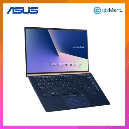 "ASUS Zenbook 14 UX433F-NA6153T 14"" Laptop-Royal Blue (i5-8265U, 8GB, 512GB, Mx150, Win10)"