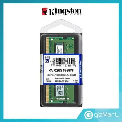 KINGSTON 8GB 2666MHz DDR4 Sodimm Notebook Ram