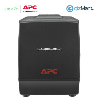 APC Line-R 1000VA Automatic Voltage Regulator, 3 Universal Outlets, 230V Malaysia