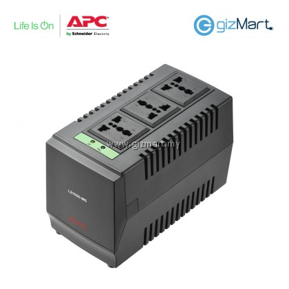 APC Line-R 1500VA Automatic Voltage Regulator, 3 Universal Outlets, 240V Malaysia (LS1500-MS)