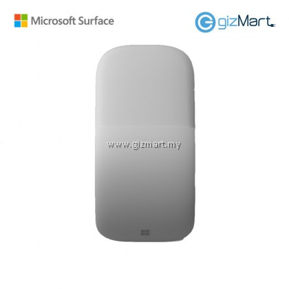 Microsoft Surface Arc Mouse (Ice Blue / Poppy Red / Light Gray)