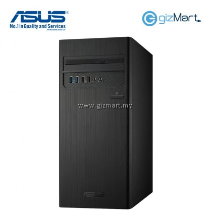 ASUS S340MC-I38100054T Tower Desktop PC-Black (i3-8100, 4GB, 1TB, Win10)