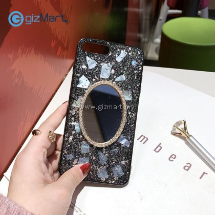 APPLE iPhone Mobile Phone Tpu Case with Makeup Mirror [PREORDER]