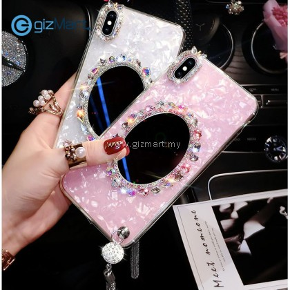 APPLE iPhone Fringe Mobile Phone Tpu Case with Makeup Mirror [PREORDER]
