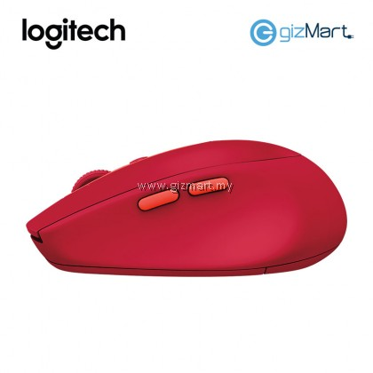 LOGITECH M590 Multi Device Silent Wireless Mouse (Graphite 910-005203 / Mid Grey 910-005204 / Ruby 910-005205)