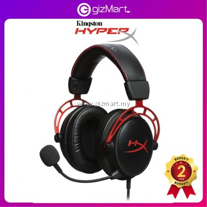 Kingston HyperX Headset Cloud Alpha Pro Gaming Headset for PC Xbox One¹ PS4 Wii U Gaming Headphones (HX-HSCA-RD/AS)