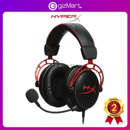 HyperX Headset Cloud Alpha Pro Gaming Headset for PC Xbox One¹ PS4 Wii U Gaming Headphones (HX-HSCA-RD/AS)