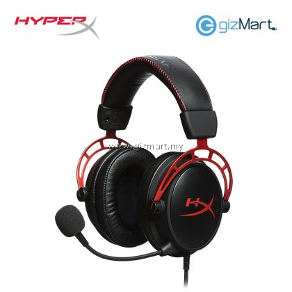 HYPERX Cloud Alpha Gaming Headset-Red