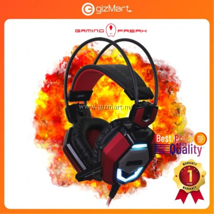 AVF Gaming Freak GH5 Killer Extra Bass PC Gaming Headset with Mic