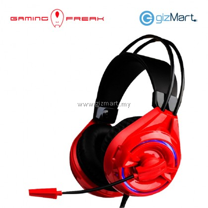 AVF Gaming Series G5 Stereo Headphone with Mic-Black/Red