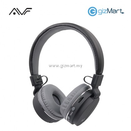 AVF HBT500 Bluetooth Wireless Headset-Black/White